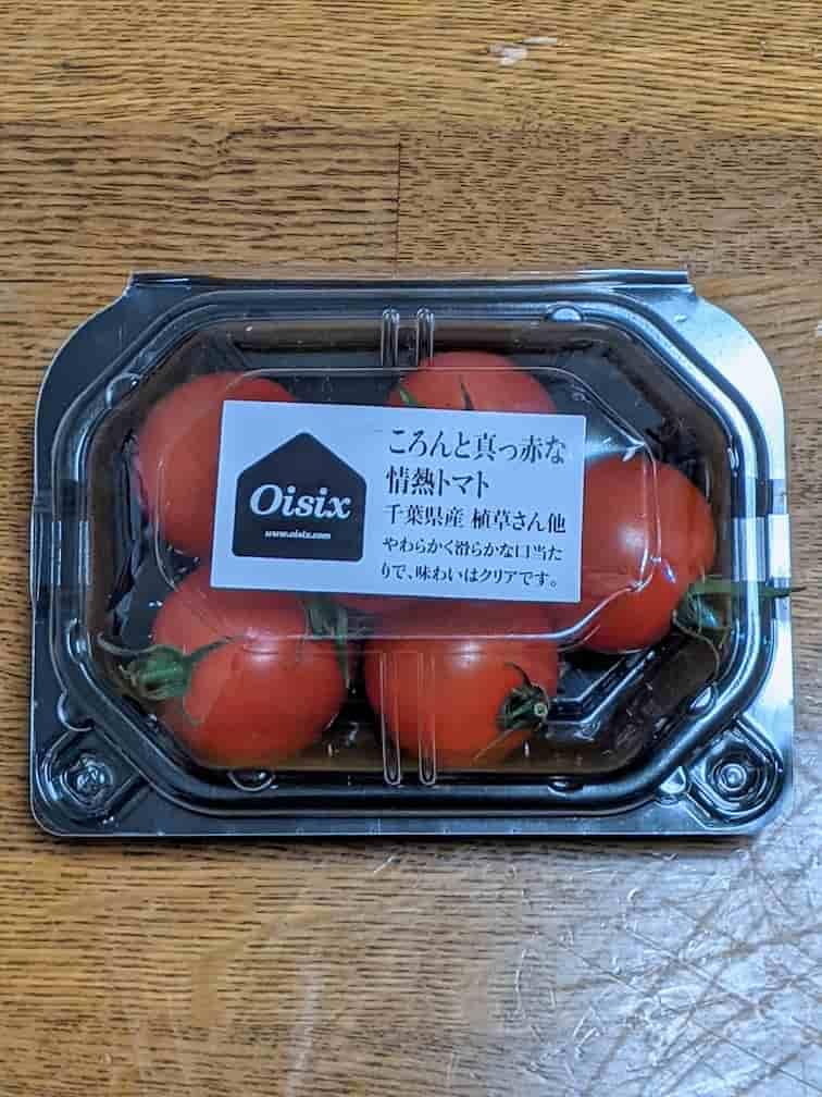 オイシックス情熱トマトの画像 ミニトマト6個入り