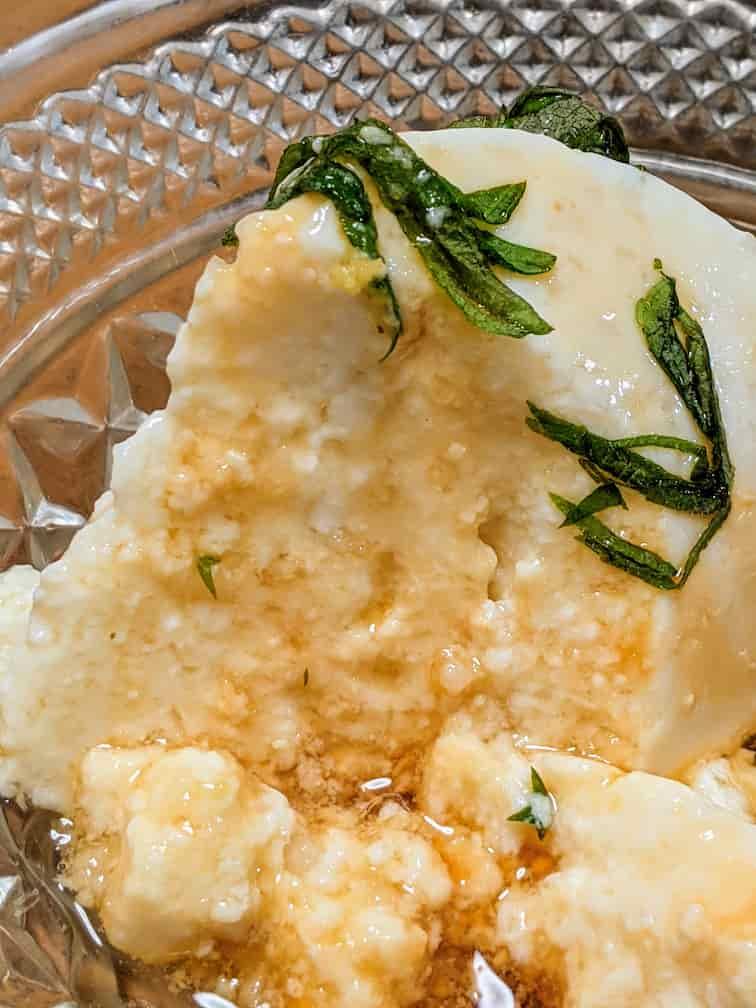 オイシックス山芋寄せ豆腐の盛りつけ画像