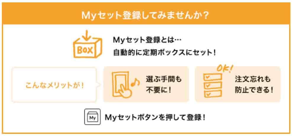 オイシックスMyセット登録おすすめ画面