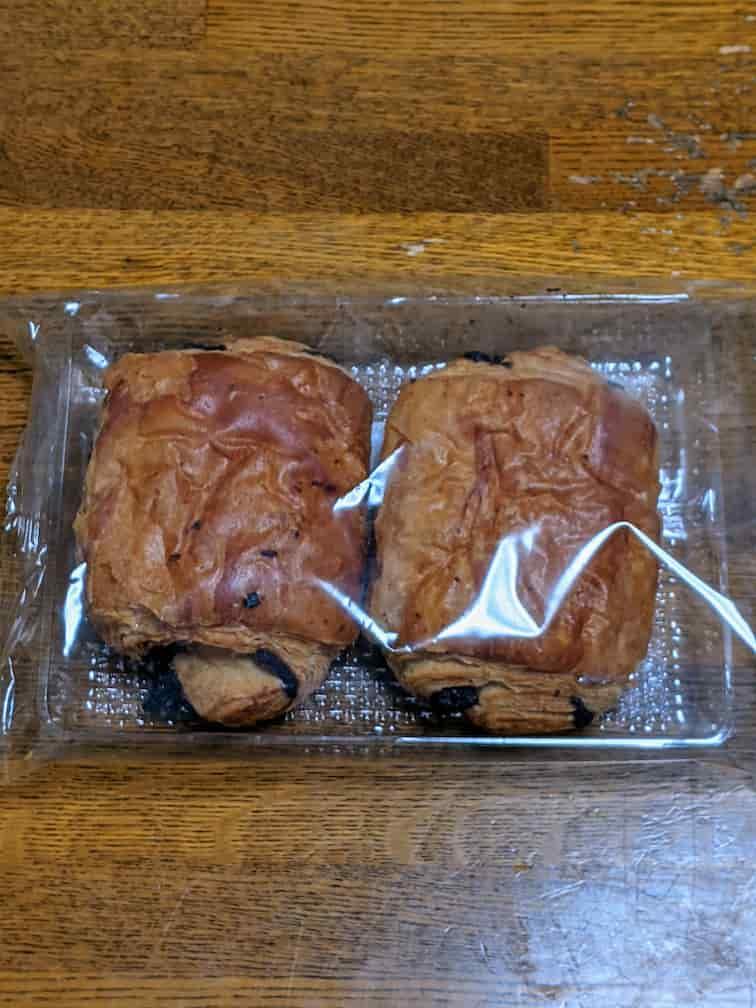 チョコデニッシュ2個入りの画像